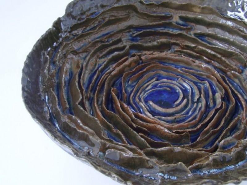 Keramika lėkštė