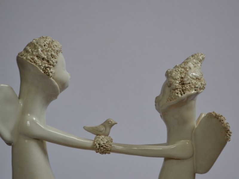 Šeimos židinys, Dovana vestuviu proga jaunavedžiams.