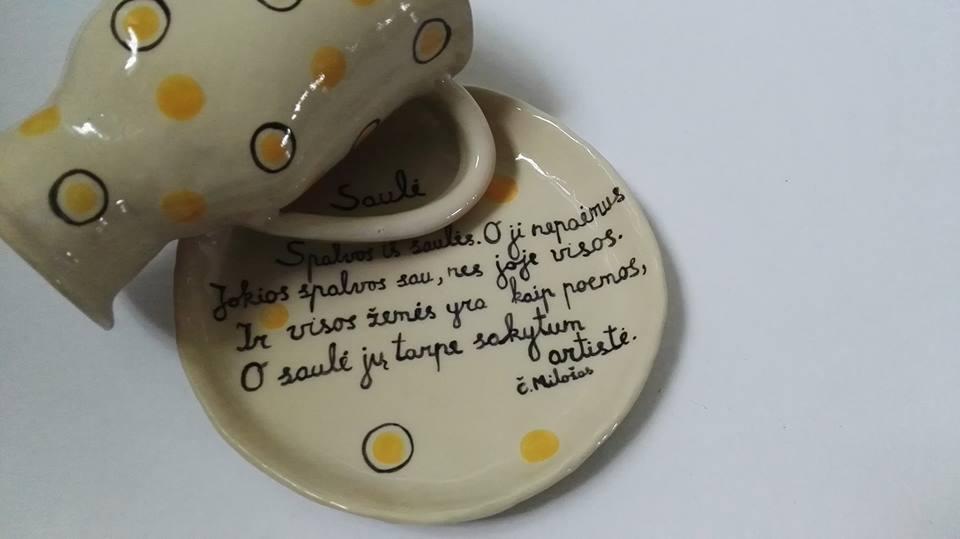 Keramikinis arbatos puodelis