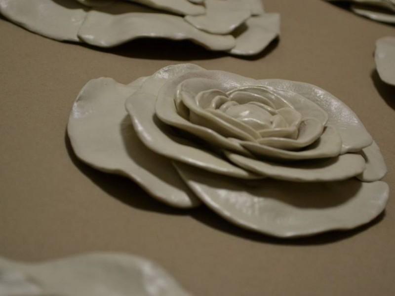 Interjero dekoras - gelės